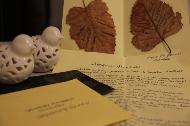 Bir Ziyaretçi Mektubu…